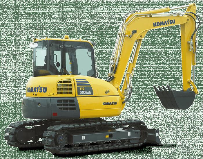 crawler excavators pc 80 mr 3 komatsu 2