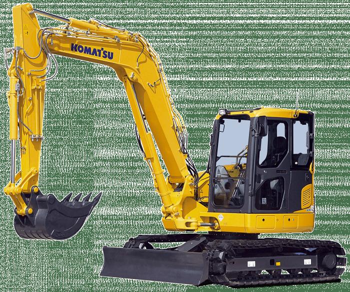 crawler excavators pc 88 r2 komatsu